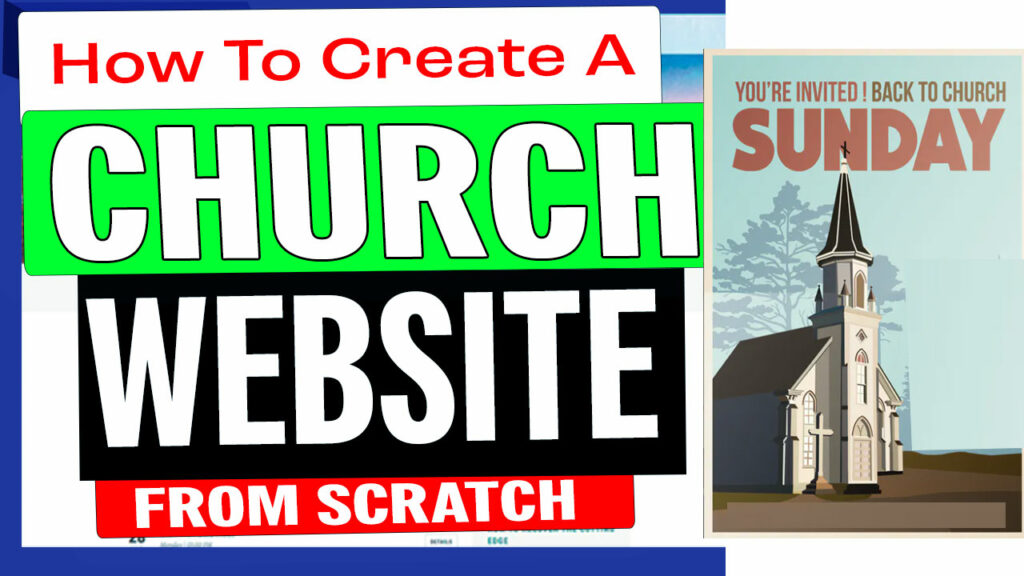 how-to-create-a-church-website-for-free